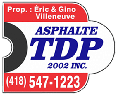 logo Asphalte TDP et Aménagement TDP
